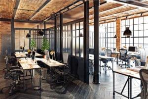 Idee per creare un ufficio in stile industriale